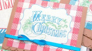 Christmas Glitter Prints