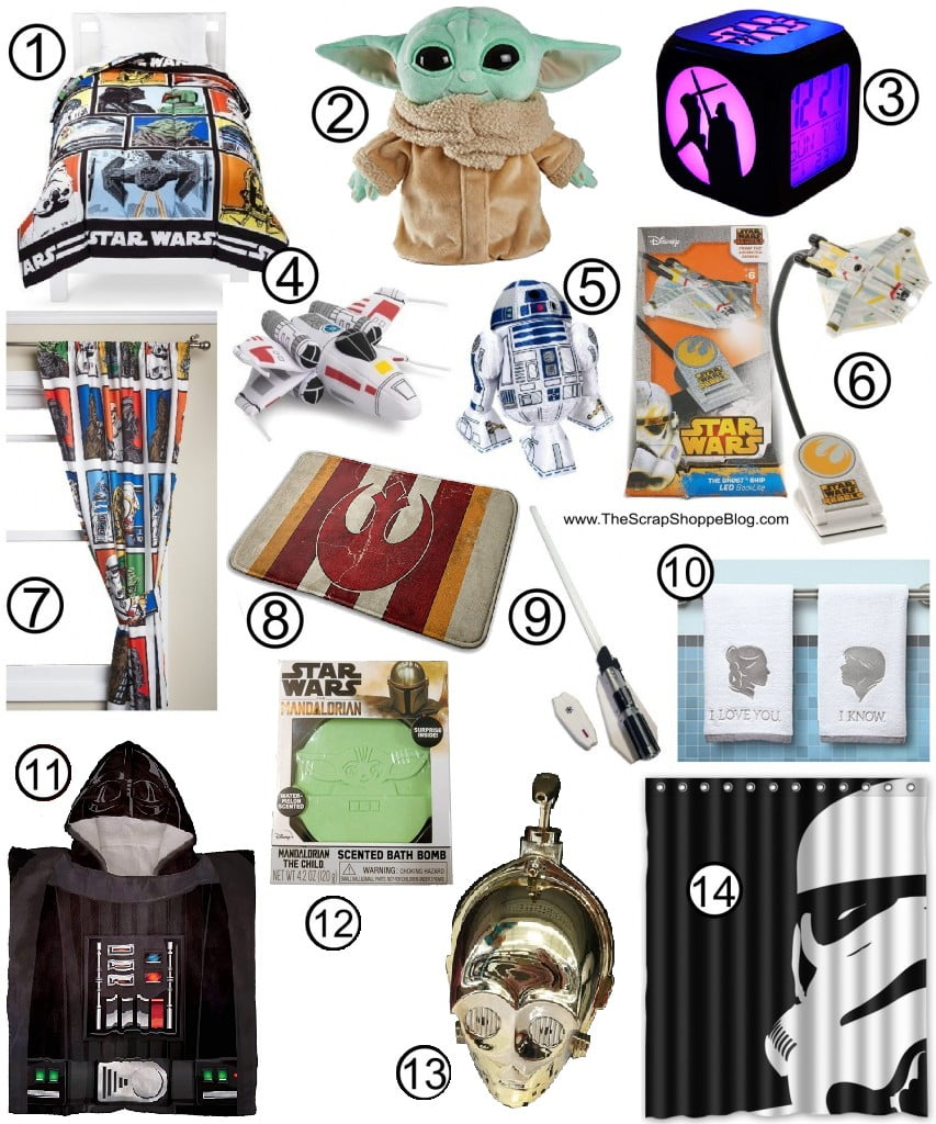 Star Wars Gift Guide Bed and Bath