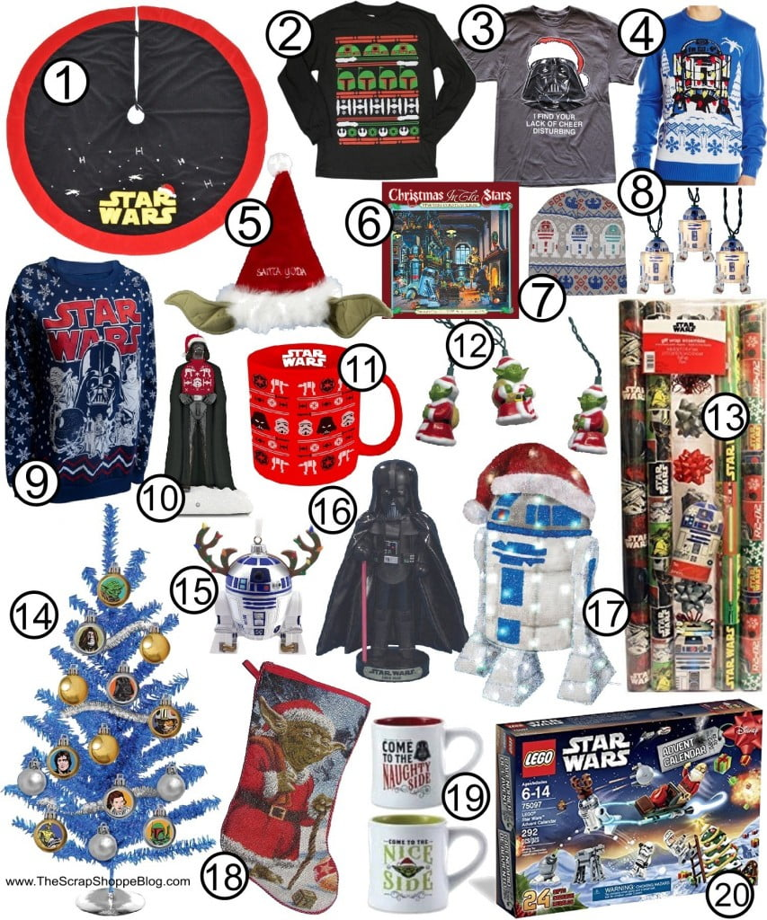 The Ultimate Star Wars Gift Guide! Christmas ideas for your favorite Star Wars fan!