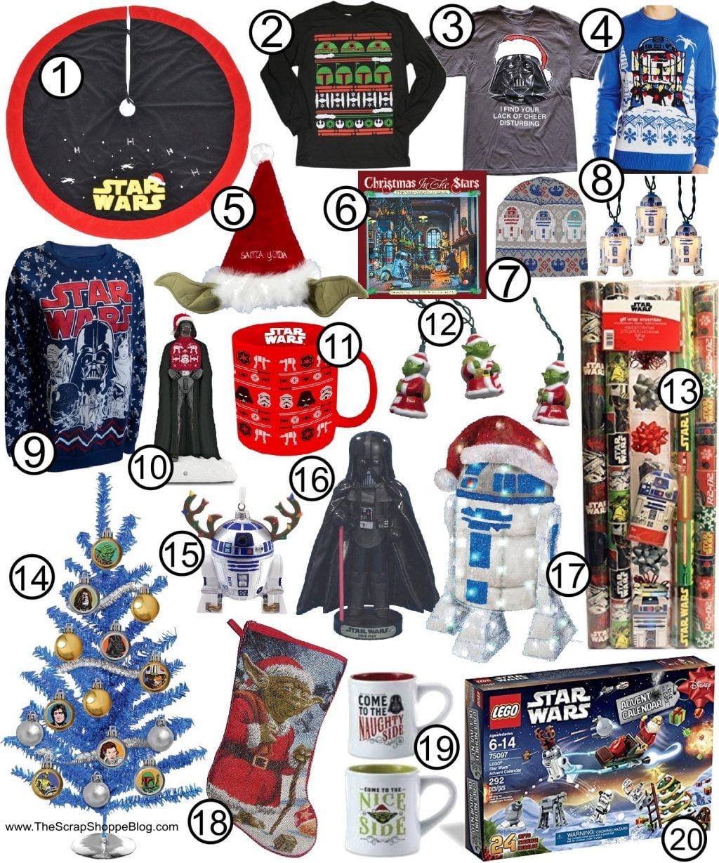 Star Wars Christmas Gift Ideas