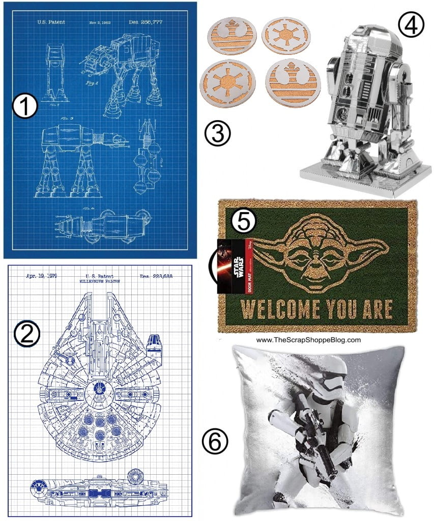 Star Wars Gift Guide Home Decor