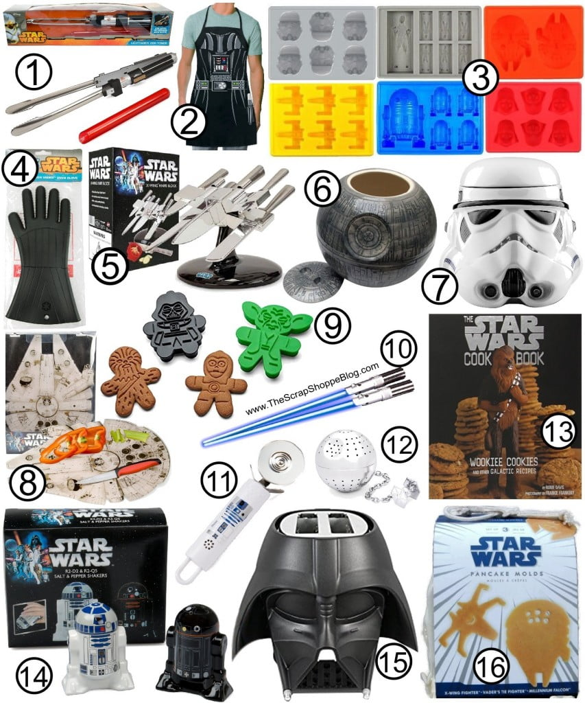 The Ultimate Star Wars Gift Guide! Kitchen ideas for your favorite Star Wars fan!