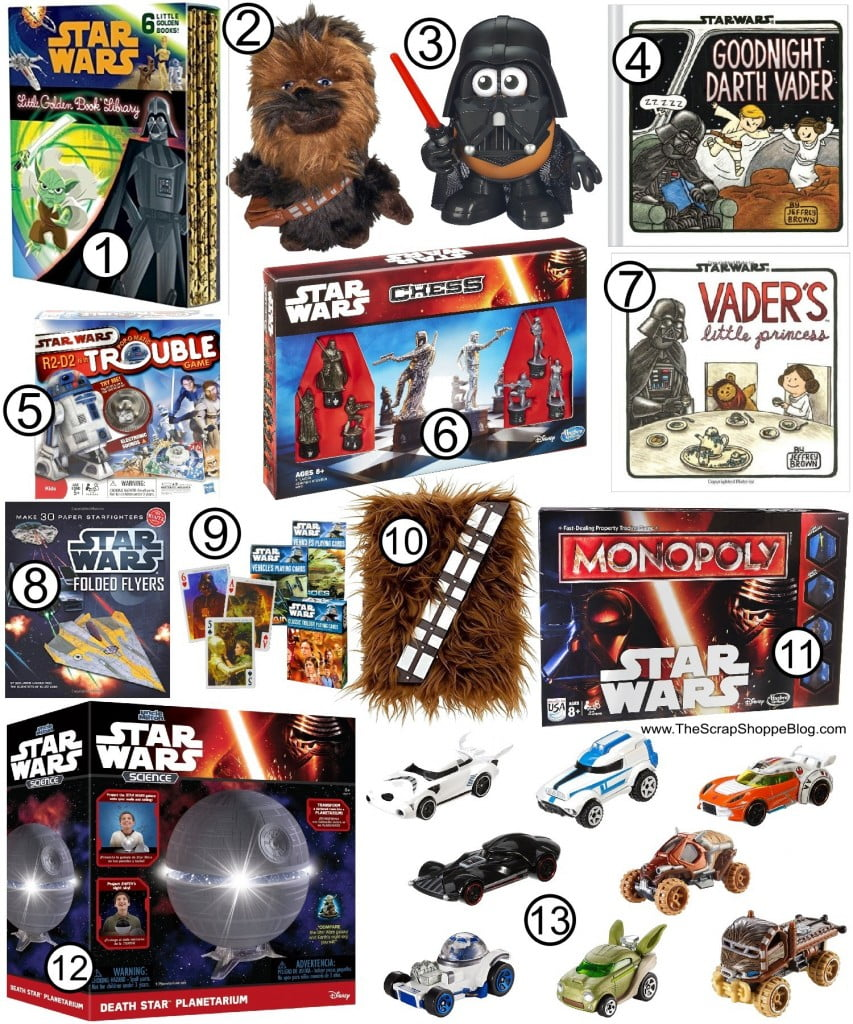 The Ultimate Star Wars Gift Guide! Games, toys, and book ideas for your favorite Star Wars fan!