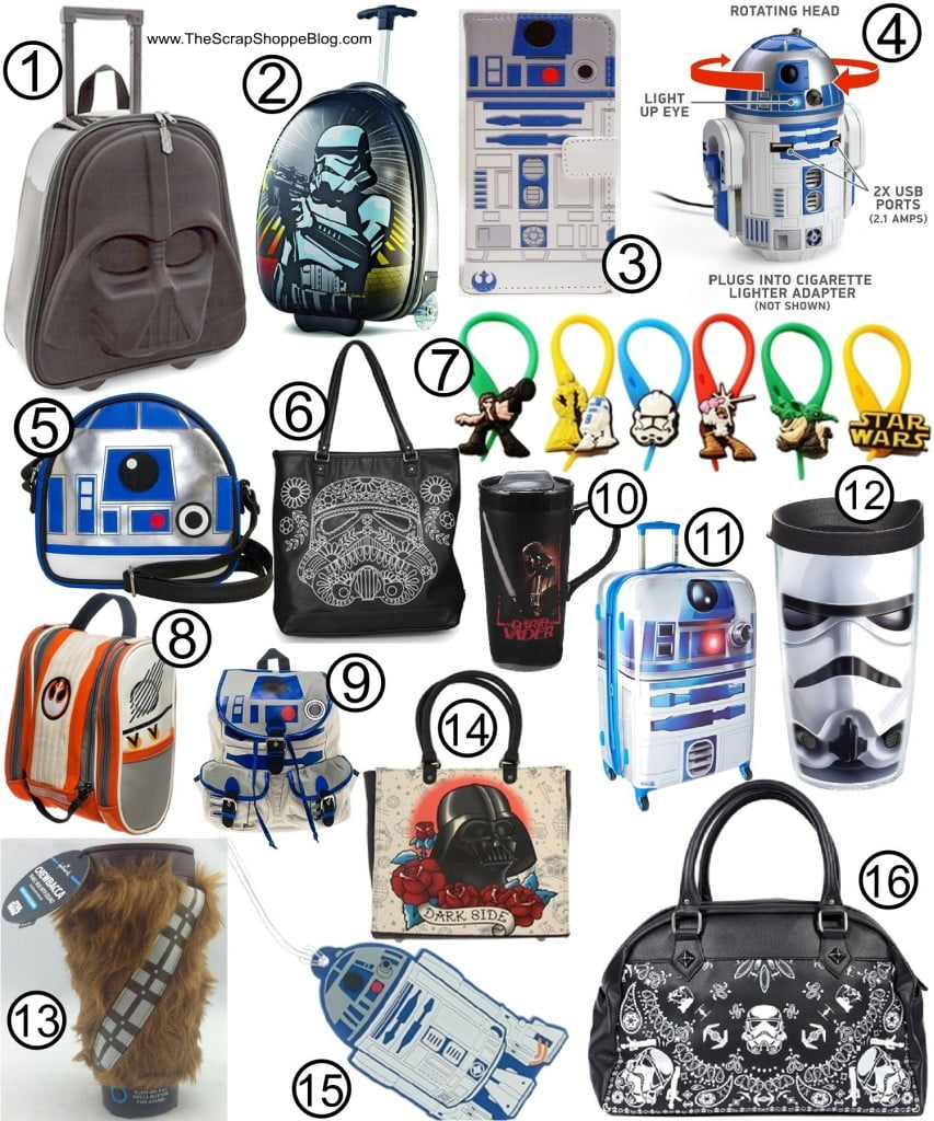 The Ultimate Star Wars Gift Guide! Travel ideas for your favorite Star Wars fan!