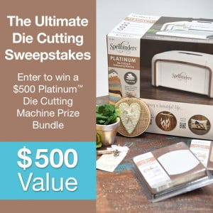 The Ultimate Die Cutting Sweepstakes