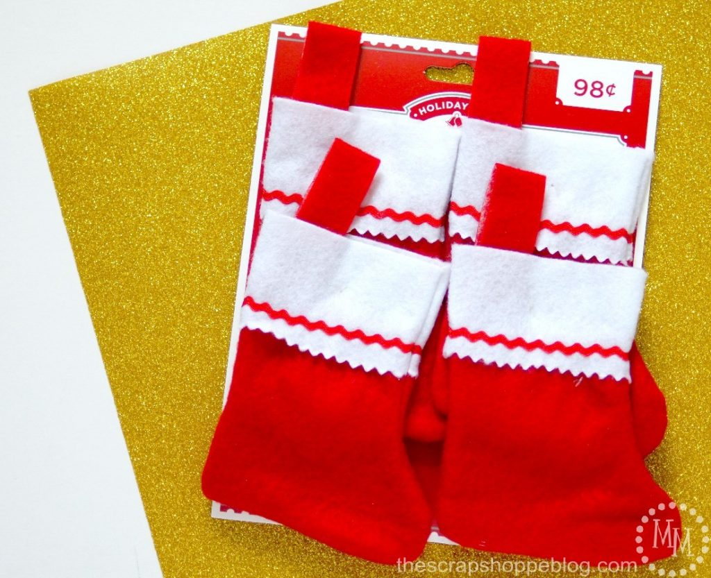 Cub Scout Christmas Stockings with FREE Scout Logo Cutting File!