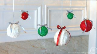 Fancy Fabric Hanging Ornaments
