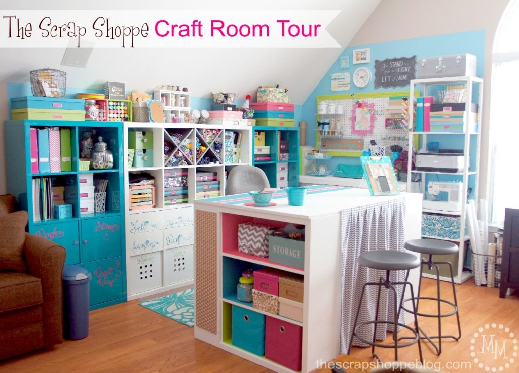 Craft Room Reveal! - The Scrap Shoppe