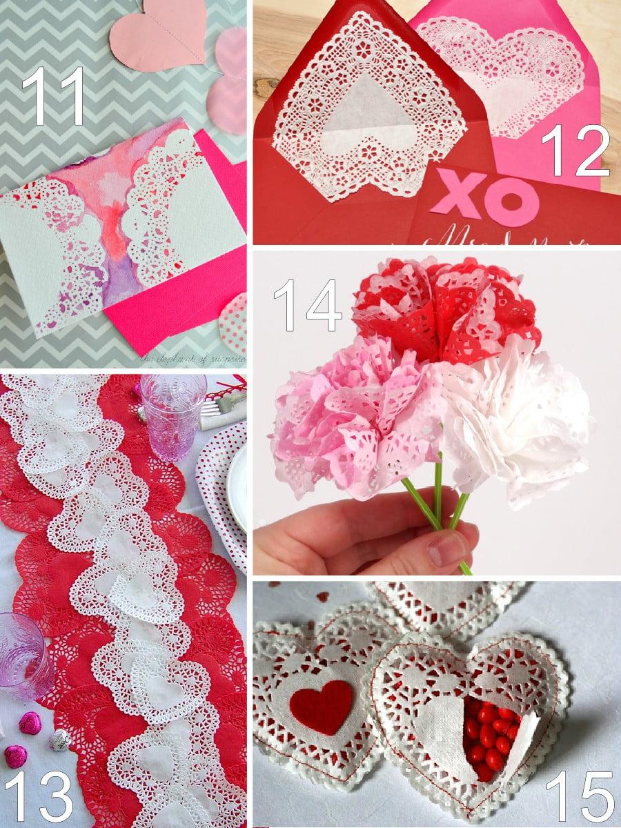 26 Paper Doily Valentine Crafts The Scrap Shoppe