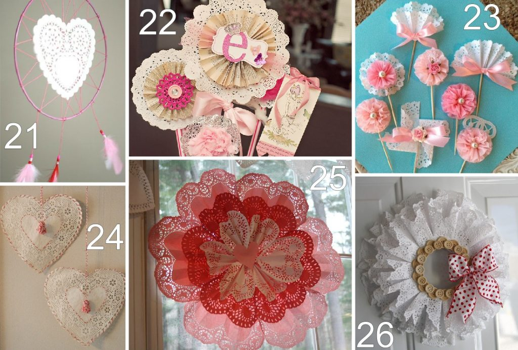 26 paper doily valentine crafts the scrap shoppe 26 paper doily valentine crafts jeuxipadfo Gallery