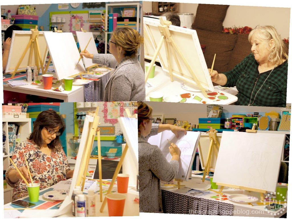 Social Artworking Party - Throw a paint party from your own home!
