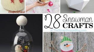 28 Snowman Crafts