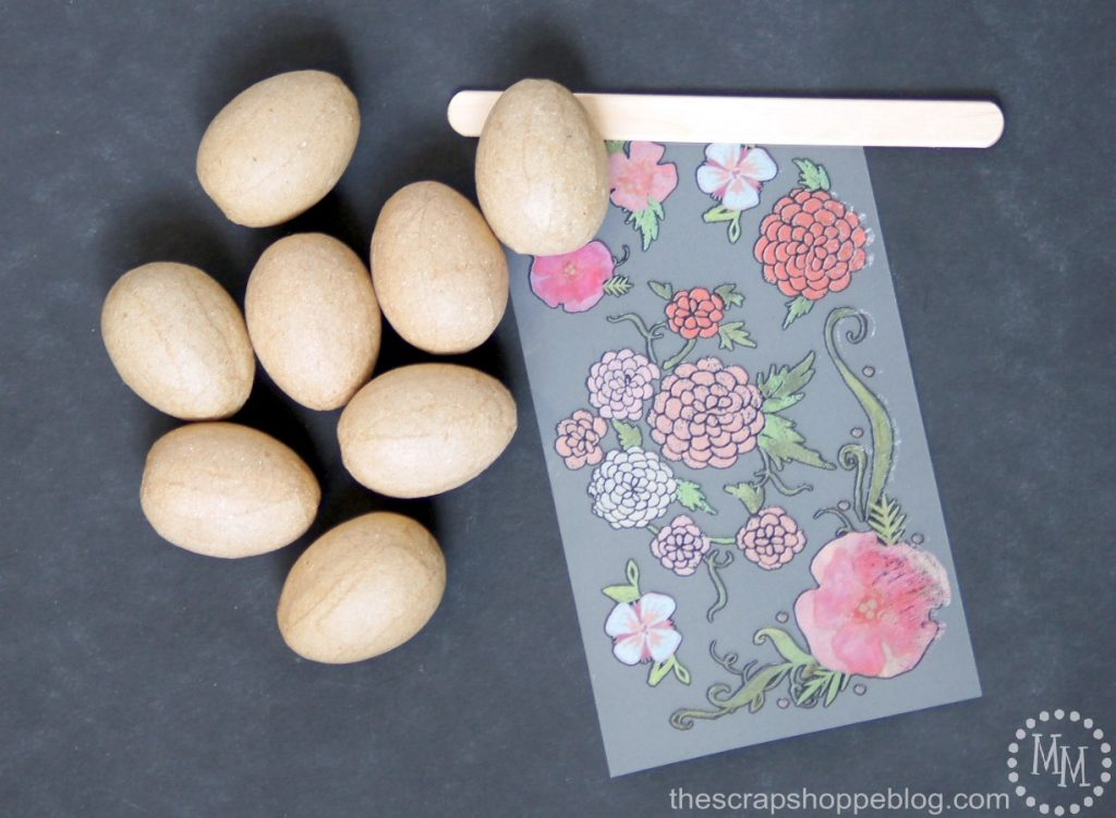 DIY Vintage-Style Paper Easter Eggs - these are SOOOOO easy to make!!