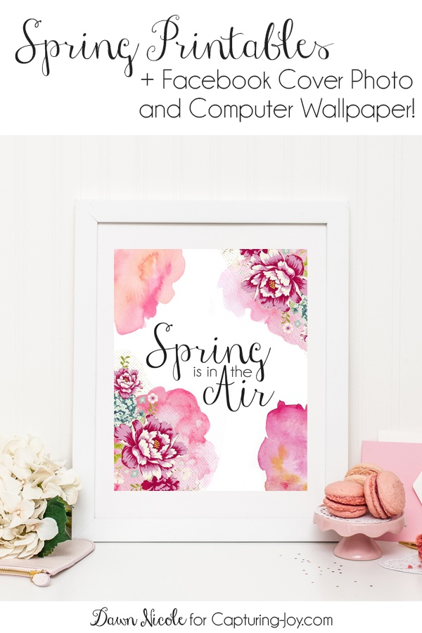 Spring is in the Air Spring Print