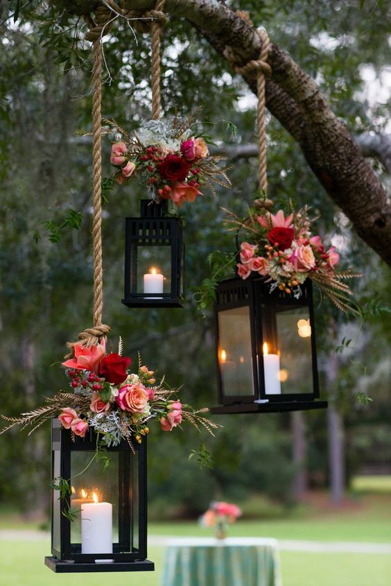 floral-hanging-lanterns