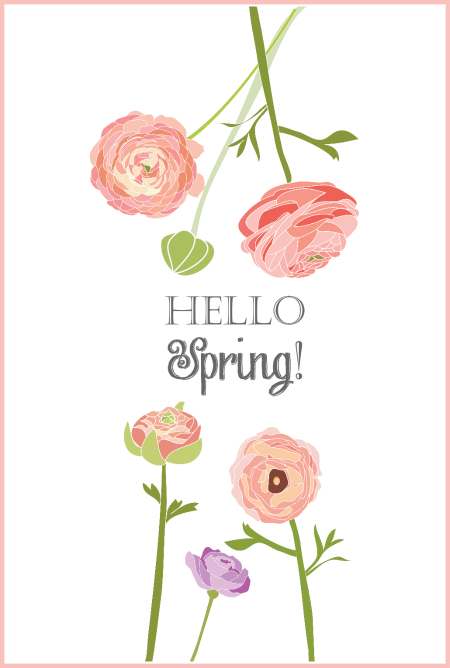 Simple hello spring print