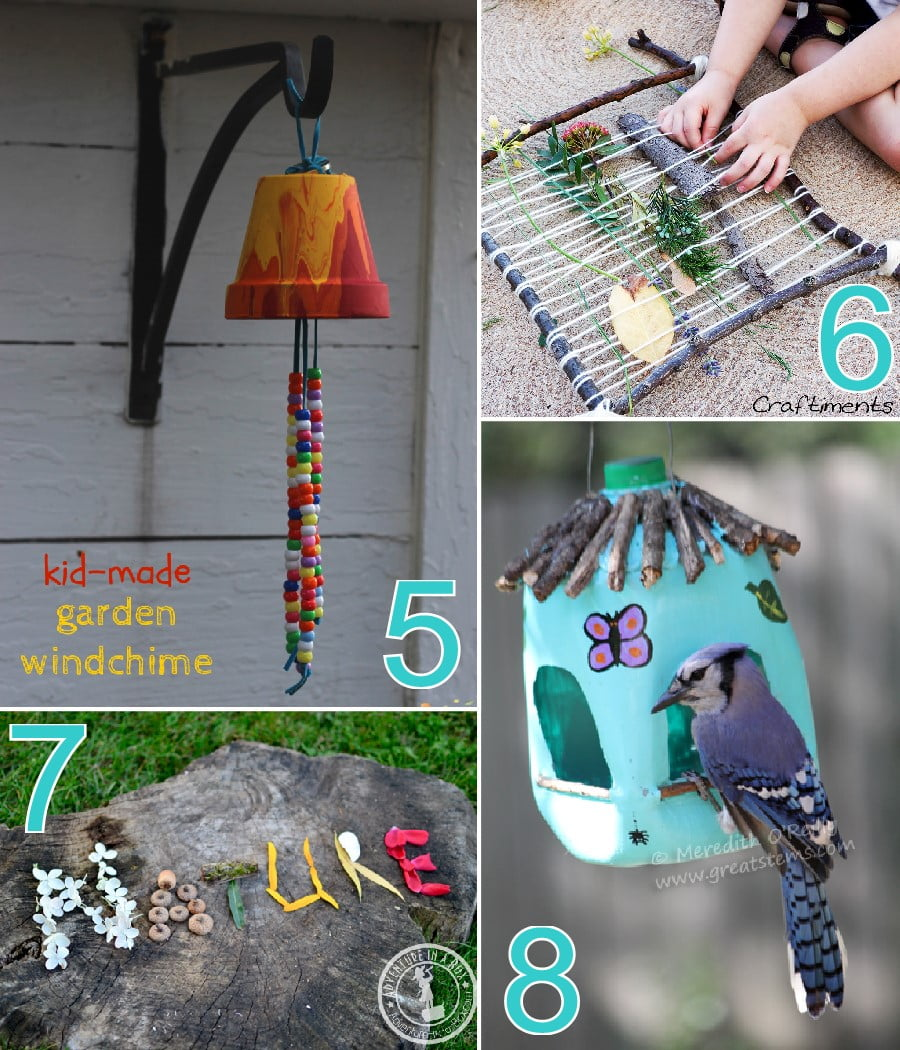 Outdoor Craft Ideas Gardens Part - 19: 20 Fun Outdoor Crafts For Kids That Need Minimal Supervision