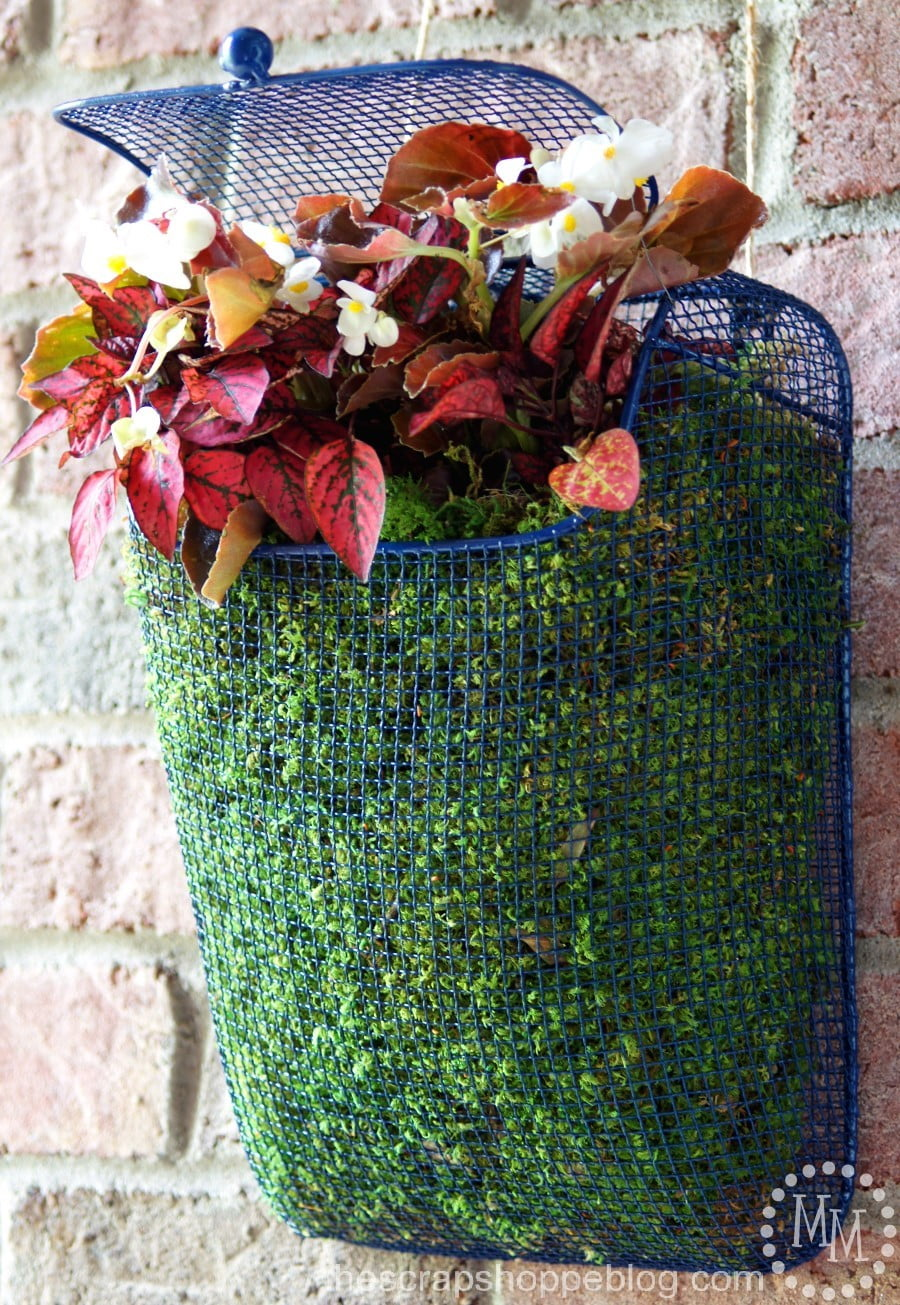 Mailbox Planter The Scrap Shoppe