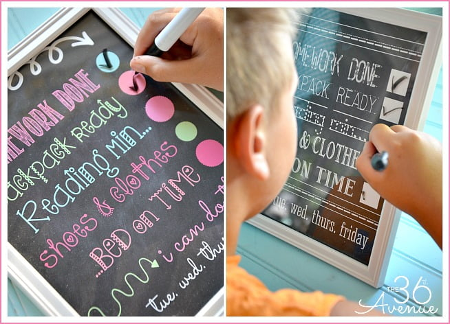 Back-to-School-Chart-Printable