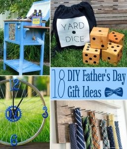 DIY Father's Day Gift Ideas