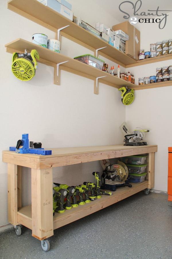 Fabulous 14 Genius Garage Organization Hacks The Scrap Shoppe Creativecarmelina Interior Chair Design Creativecarmelinacom