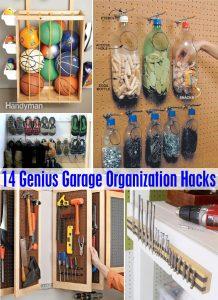 14 Genius Garage Organization Hacks
