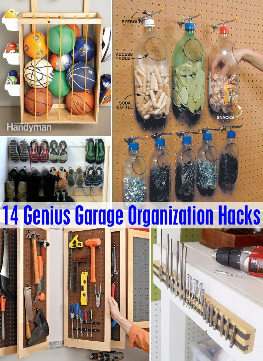 . 14 Genius Garage Organization Hacks   The Scrap Shoppe