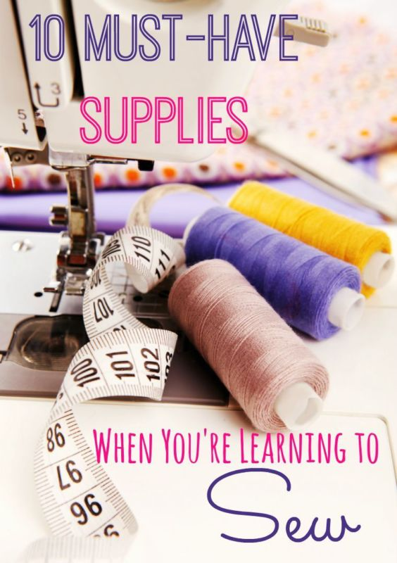 Great tips for sewing with kids!