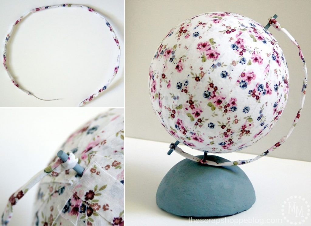 Did you know you can make your own globe? This DIY is easier than you might think!
