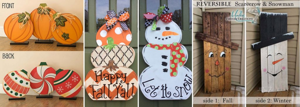 Must have craft tips reversible holiday decorations for Fall ideas crafts
