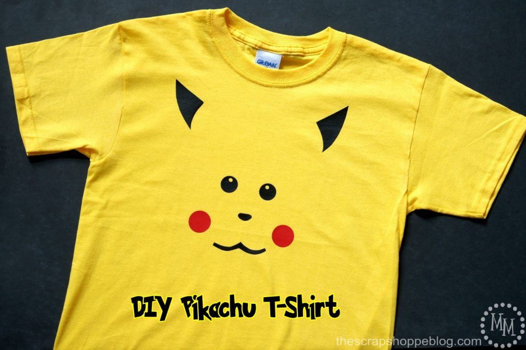 Diy Pikachu Shirt The Scrap Shoppe