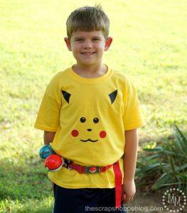 DIY your own Pokémon Pikachu shirt with heat transfer vinyl. No cutting machine needed!