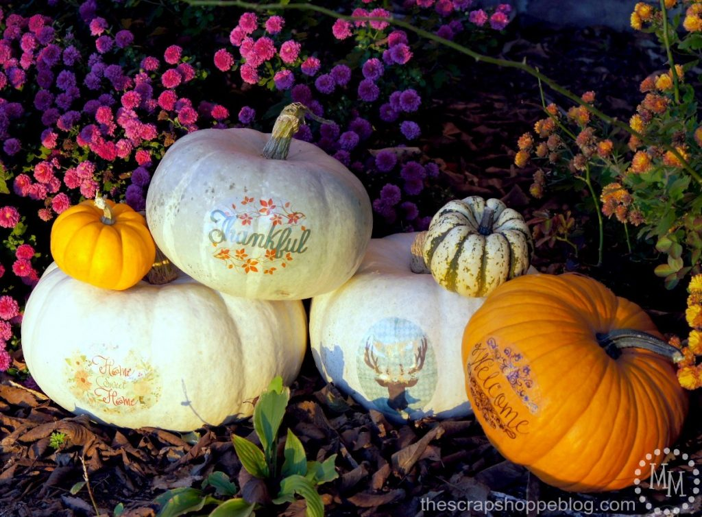 Don't want to carve into your pretty new pumpkin? Give a tattoo instead using these FREE downloadable patterns!
