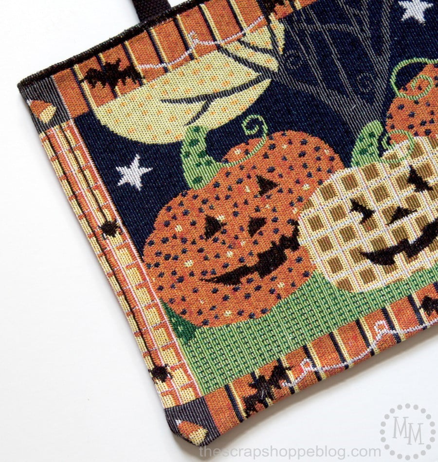 Create a boutique-style handbag with tapestry placemats!