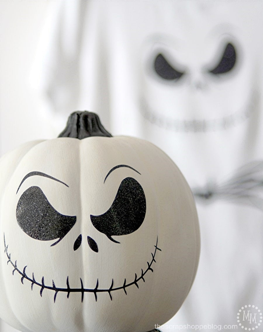 Diy Jack Skellington Shirt Amp Pumpkin The Scrap Shoppe