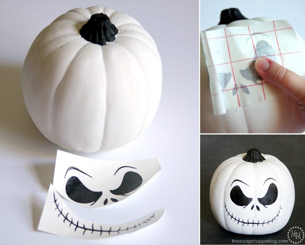 Diy Jack Skellington Shirt Amp Pumpkin The Scrap Shoppe