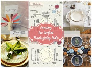 Create the Perfect Thanksgiving Table