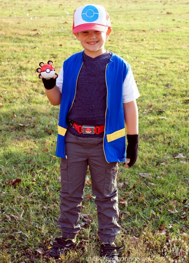 Make your little Pokémon fans their own Pikachu and Ash Ketchum costumes for Halloween or play!