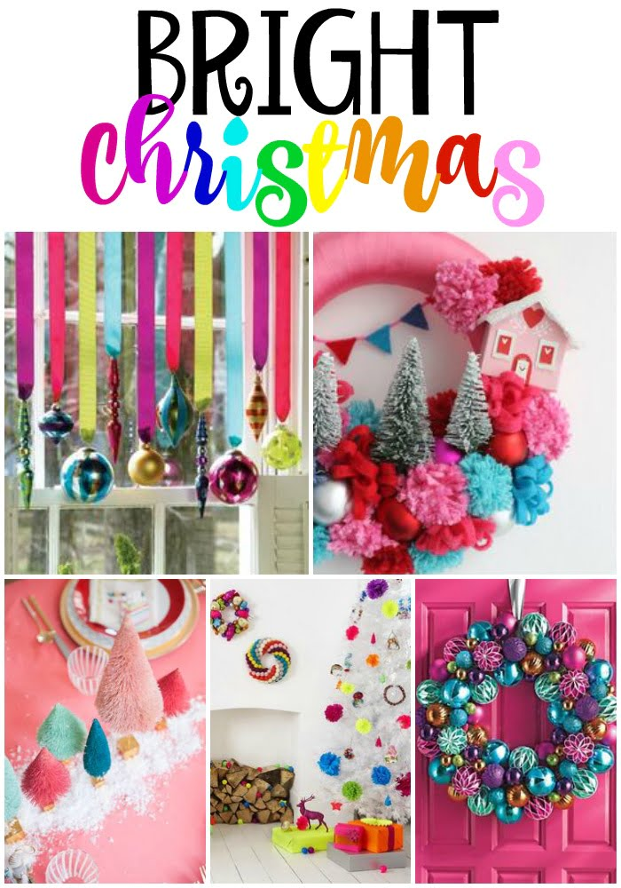 bright color christmas