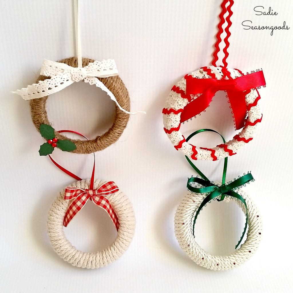 Crochet Christmas Ornament Crafts