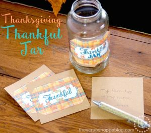 Thanksgiving Thankful Jar Printables - FREE Labels!