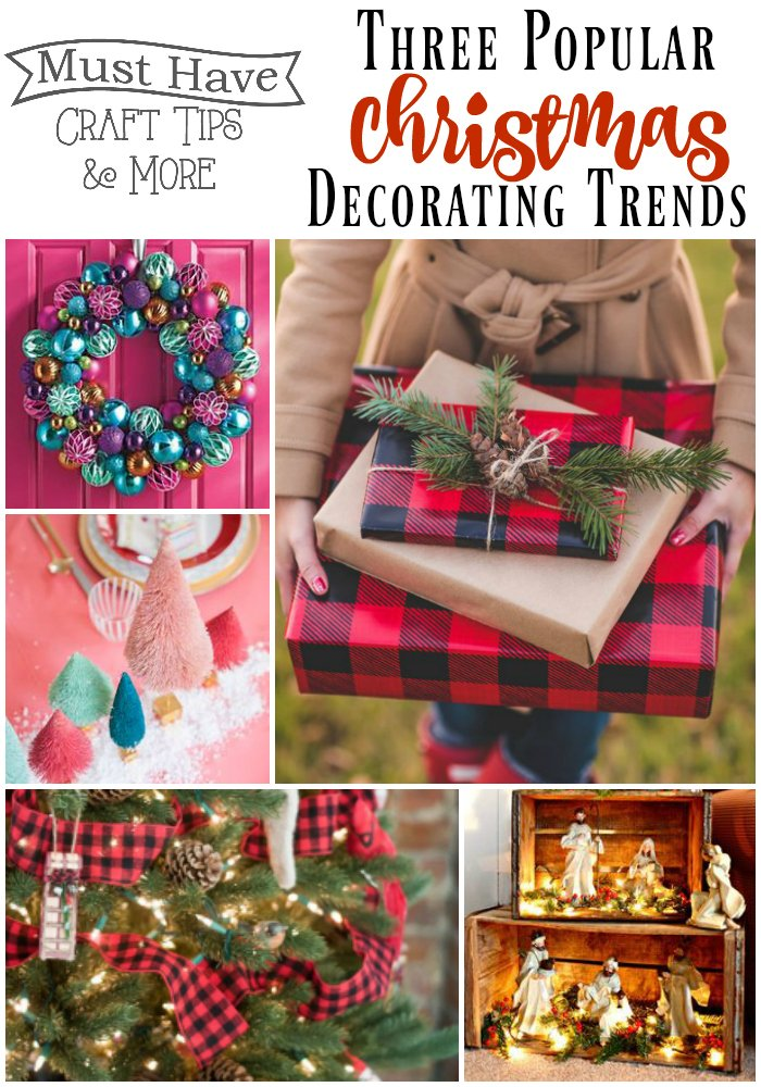 Don't miss these popular Christmas decorating trends!