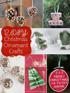 12 DIY Christmas Ornament Crafts