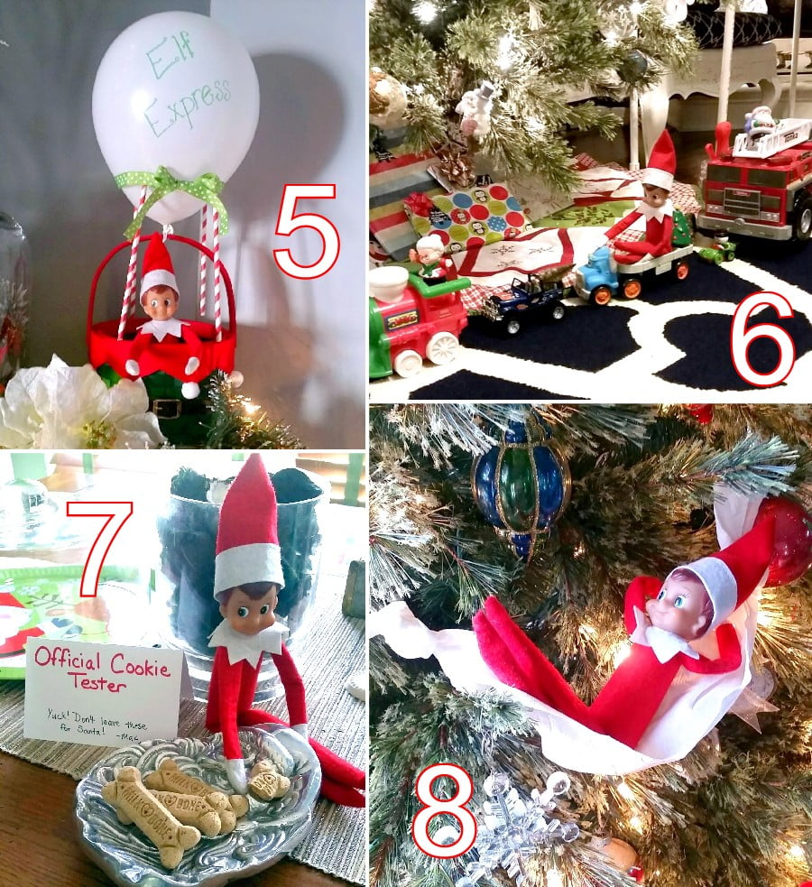 24 cute elf on the shelf ideas the scrap shoppe for Elf on the shelf balloon ride