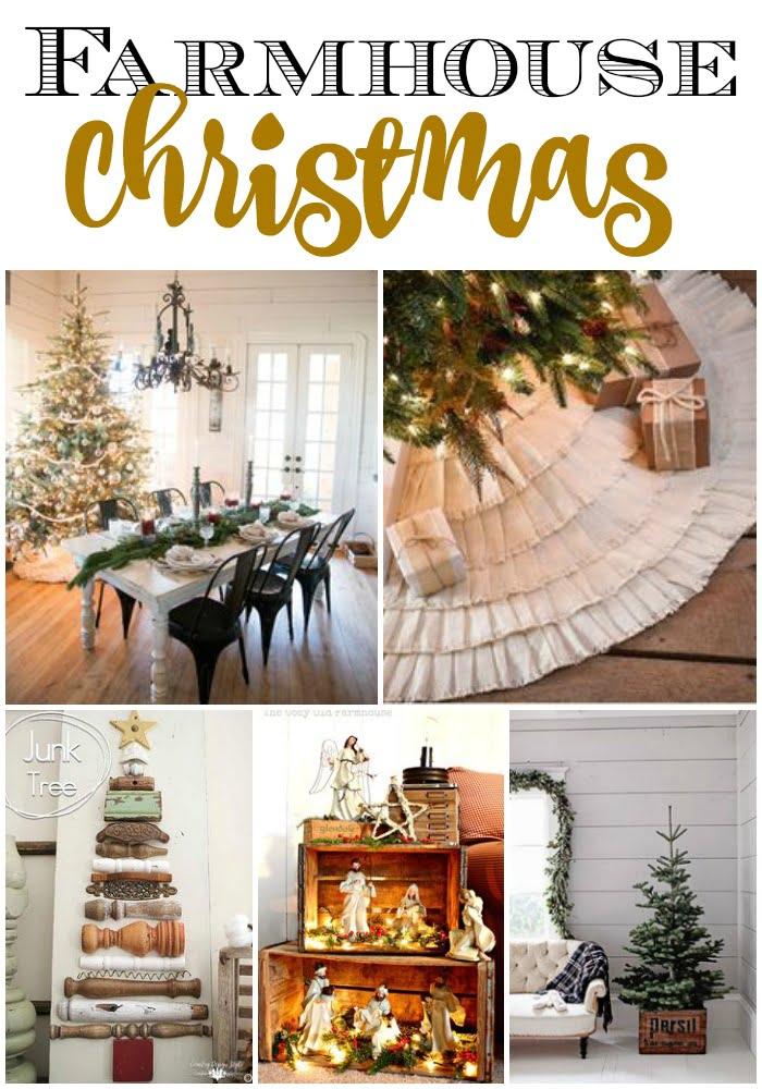 trendy farmhouse christmas