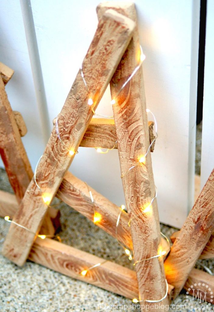You've seen tobacco stick stars, but have you seen tobacco stick Christmas trees? You won't believe what these are made from! *Hint, hint* It's not wood!