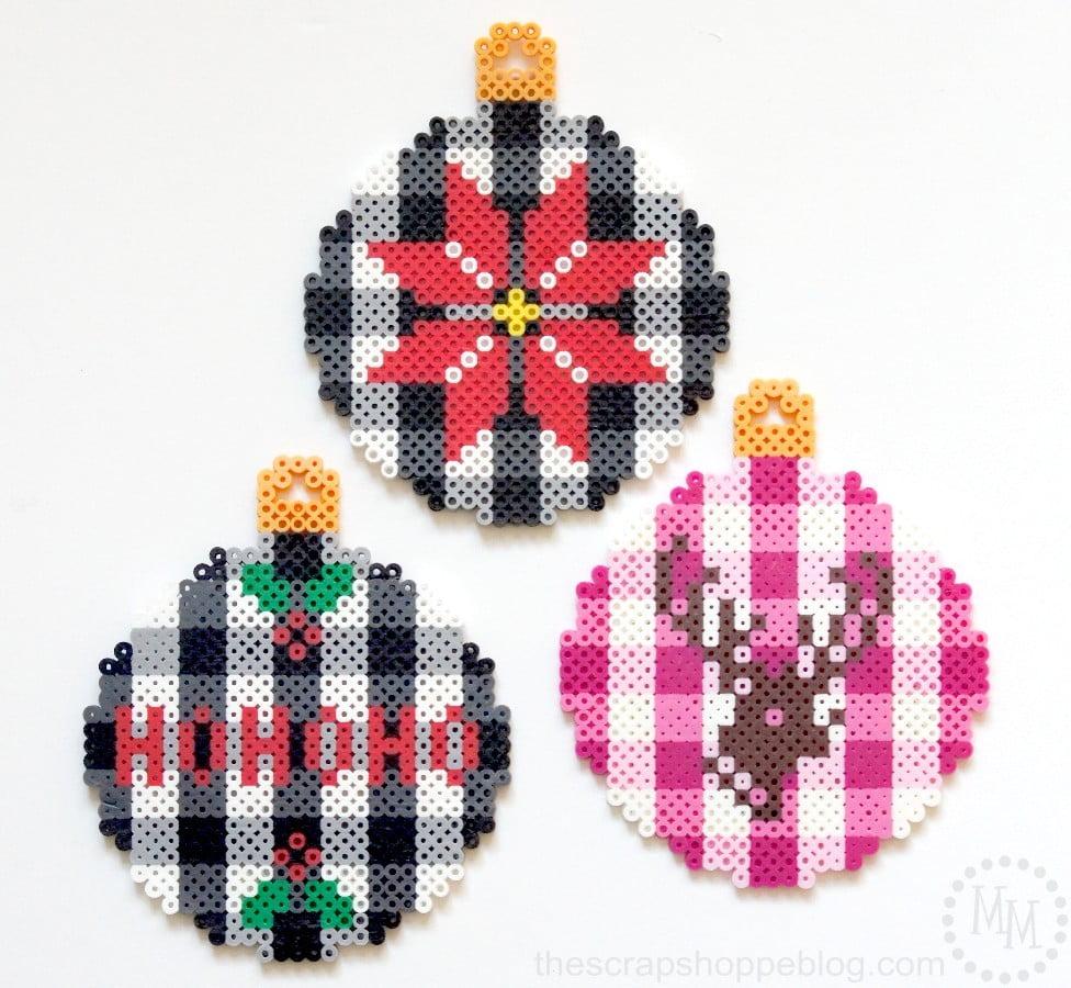 trendy-plaid-christmas-ornaments