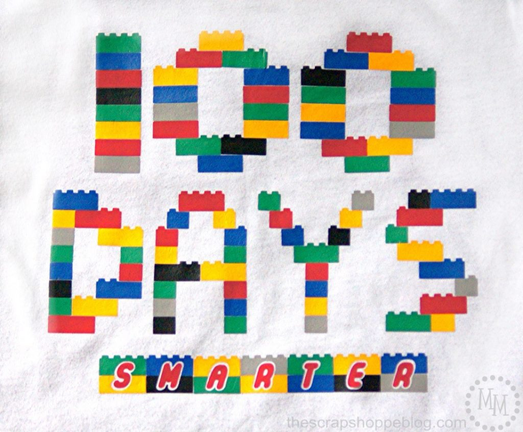 This 100 Days Smarter is perfect for your LEGO-loving little one's school celebration of 100 Days of School! Grab the FREE cute file!
