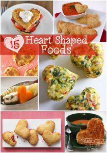 15 Fun Heart-Shaped Foods