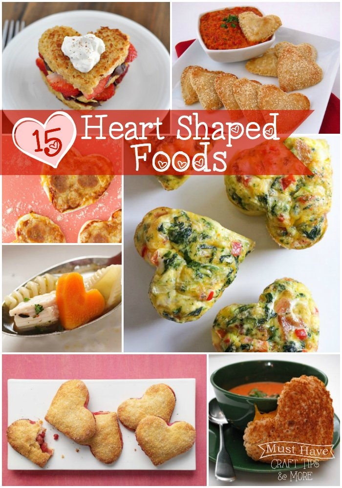 15 Fun Heart-Shaped Foods
